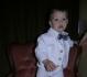 Baltas trikotažinis kostiumėlis